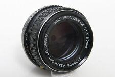 SMC Pentax - M 50mm f1.4 Lens