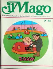 IL MAGO n.34/1975 - grandi autori - grandi fumetti .. B.C. - Jacovitti...