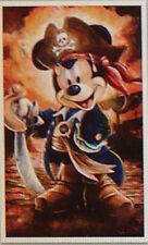 Disney Pirate Mickey Mouse  Darren Wilson Art Print 12 x 20