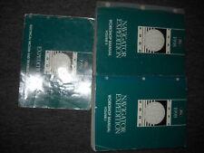1998 FORD EXPEDITION & LINCOLN NAVIGATOR Shop Repair Service Manual SET W EWD