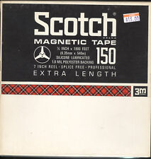 Scotch 150 Recording Tape Reel to Reel  Excellent Condition  -  LOT of 2