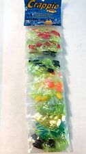 Crappie Pro Assorted Color Original Solid Body Skirted Jig  ( 110 Lures Total )
