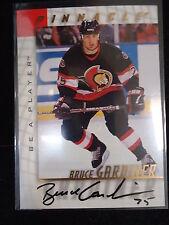 Bruce Gardiner 1998 Pinnacle Be A Player Autograph