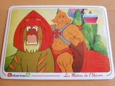 Carte Postale Les Maitres de l'Univers - Musclor et son Tigre - MOTU 1984