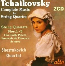 Tchaikovsky: Complete Music for String Quartet (CD, Nov-2013, 2 Discs, Alto)