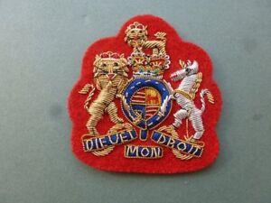 Regimental Serjeant Major (RSM) arm rank in bullion for No 1 Dress