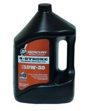 Mercury Marine 92-8M0078626 4-Stroke (10W-30) Outboard Oil Gallon