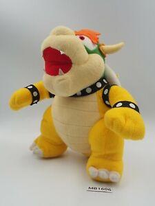 "Bowser MB1606 Legit Super Mario Party 5 Sanei 2003 Hudson Plush 10"" Doll Japan"