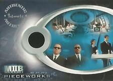 "Men In Black II - PW1 ""MIB Agents Suits"" Pieceworks Costume Card"