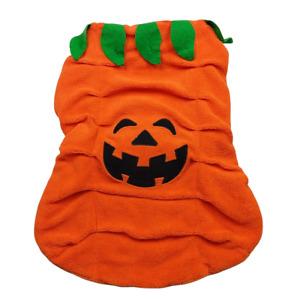 Top Paw Halloween Puppy Dog Orange Pumpkin Costume Size XL
