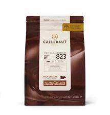 Callebaut Belgian Milk 823 Chocolate Callets 2.5kg