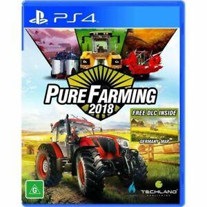 Pure Farming 2018 PS4 aus game