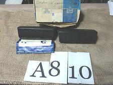A810 - COPPIA ROSTRI GOMMA ALTISSIMO PARACOLPI BORCHIE PARAURTI FIAT 127