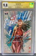 Daredevil #25, CGC 9.8 SS x2 Frank Miller & Janson, WP, Elektra as Daredevil!