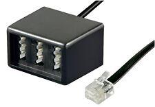 TAE Telefon Modular Adapter RJ11 Stecker -> 3x TAE Buchse 2x TAE-F 1x TAE-N 0,2m