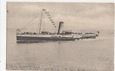 GSN Co Steamer Golden Eagle 1912 Postcard 276a