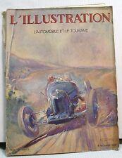 R8 77 L'ILLUSTRATION - L'AUTOMOBILE ET LE TOURISME.Numero du Salon de l'Auto1928