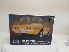 Revell 68 Corvette Roadster 2 'N 1 Kit 1:25 Scale