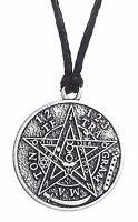 Hebrew Tetragrammaton Goetia Hermetic Kabbalah Pentacle Pendant Necklace for Men