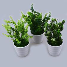 Artificial Plants Fake Greenery Foliage Plants Home Garden Outdoor Decor