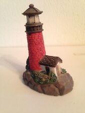 Resin red brick lighthouse