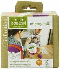 Infantino Fresh Squeezed Mighty Mill HARD TO FIND DISCONTINUED 4 FOOD POUCH NEW