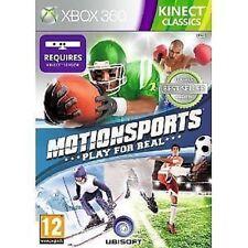 JUEGO XBOX 360 MOTIONSPORTS Movimiento Sports Kinect Classics NUEVO