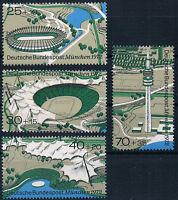 723-726  ** ,  Einzelmarken Block 7, BRD 1972