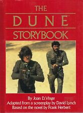 THE DUNE STORYBOOK by Joan D Vinge  large hardback book from 1984