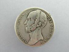 1 Gulden 1847 Willem II. Niederlande ║ M1018