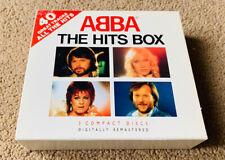 Abba - The Hits Box (CD 1991) 3CD Triple MINT CD 40 Tracks
