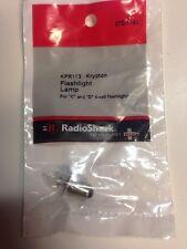KPR113 • Krypton Flashlight Lamp #272-1162 By RadioShack