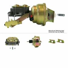"1961-64 Ford Truck Firewall Mount Power 7"" Single Brake Booster Kit Drum/Drum"