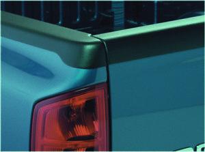 Bushwacker for 11-18 Volkswagen Amarok Fleetside Bed Rail Caps 61.2in Bed - Blac