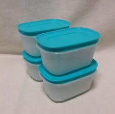 BNIP TUPPERWARE  FreezerKeeper Mini (Freezer Mates) set of 4