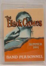 The Black Crowes - Original Laminate Concert Tour Backstage Pass