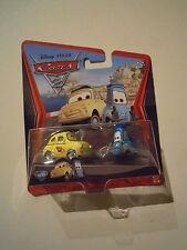 CARS Disney pixar cars Luigi & Guido race team 2010 n.10-11 scala 1/55 mattel