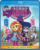New: MY LITTLE PONY Equestria Girls - Friendship Games (2-Disc) Blu-ray Set