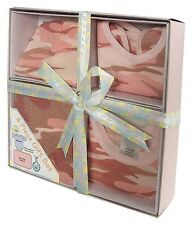 Infant 4-Piece Boxed Gift Set Camo One Piece  Baby Clothes USMC USAF Army Navy