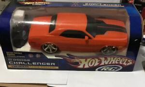 Hot Wheels Digital Radio Control RC Dodge Challenger Concept Vehicle Rare 2007