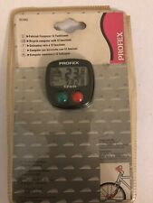 Profex 12 Function Wired Performance Bicycle Bike Computer 60943 New Speed Timer