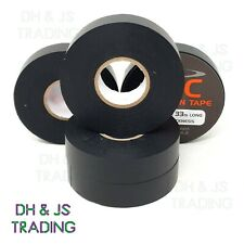 19mm x 33m Black PCV Insulation Electrical Tape / Insulating Flame Retardant