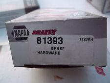 NAPA  BRAKE  HARDWARE KIT  PART NUMBER   81393