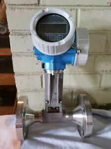 7R2BRG-30K2/101 Endress+Hauser Prowirl 200 Flow Meter - Clean & Tested!