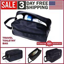 Travel Toiletry Bag Dopp Kit Cosmetics Makeup Shaving Organizer for Men & Women