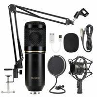 BM800/NW700 Condenser Microphone Kit Pro Audio Studio Recording & Brocasting Kit
