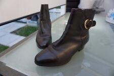 Medicus Erika Damen Winter Schuhe Stiefel Boots Gr.8 G 42 Leder gefüttert braun