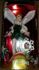 DISNEY Holiday Sparkle TINKERBELL SPECIAL EDITION 1999 NIB MATTEL BAMBOLA DOLL