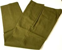 WWII US M1937 WOOL FIELD TROUSERS-SMALL