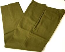 WWII US M1937 WOOL FIELD TROUSERS-LARGE